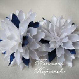 """Резинки для волос""""Хризантемы"""""""