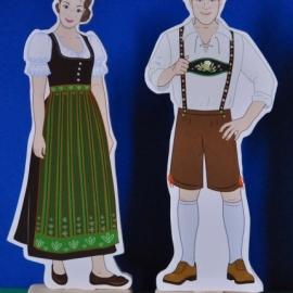 Национальные костюмы Германии