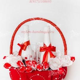 """Свадебный набор """"Красный"""""""