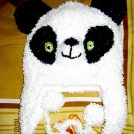 Шапочка Панда на 2-5 лет
