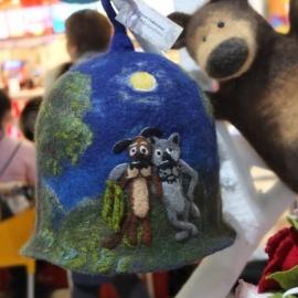 Банная шапка Жил-был пёс