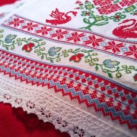 Свадебный рушник Вьюны